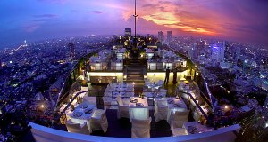 Moon bar at Vertigo in Bangkok